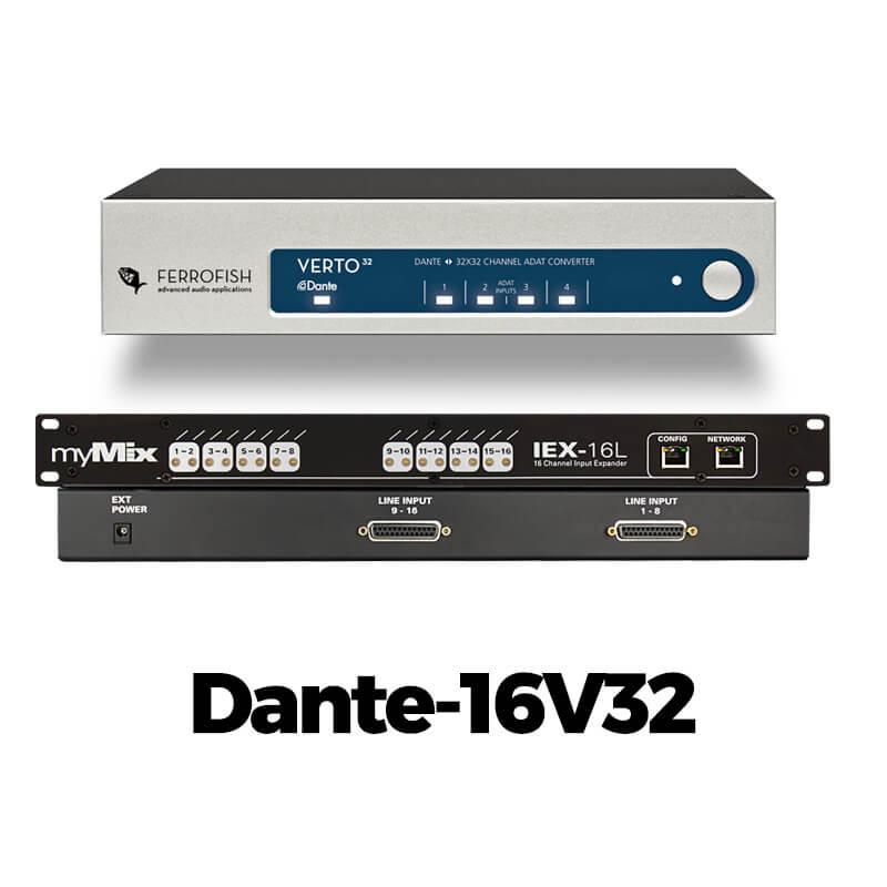 myMix Dante-16V32