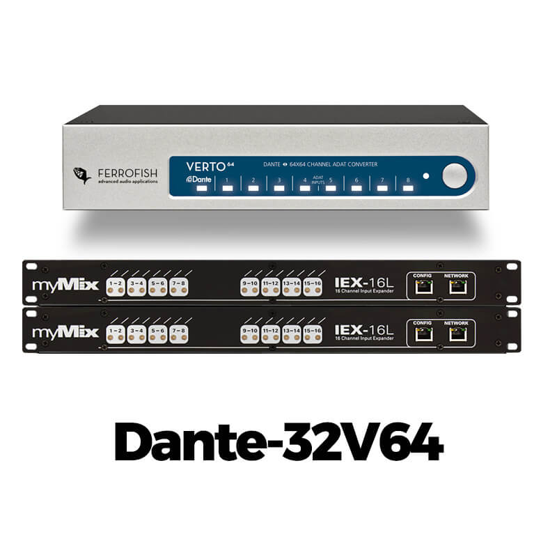 myMix Dante-32V64
