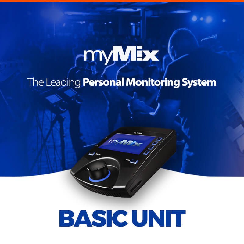 myMix – Personal Monitor Mixer basic unit