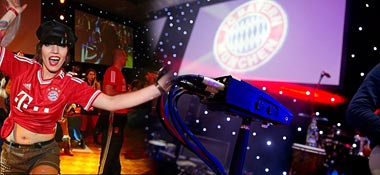FC Bayern's Champions-League Party with The Clou Experience